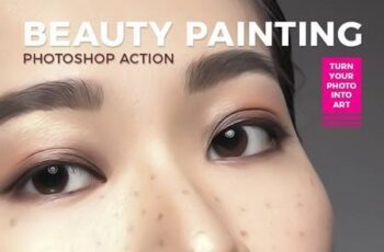 Beauty Painting Effect - Photoshop Action 26132930 1