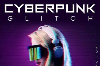CyberPunk Glitch Photoshop Action 26048065 8