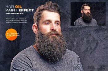 HDR Oil Paint Effect Photoshop Action 26090101 10