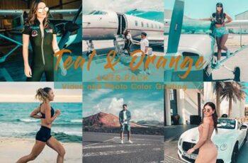 TEAL & ORANGE - LUTs Pack 4983136 2