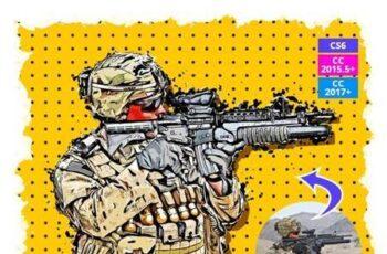 Vector Sketch Photoshop Action 26519972 9