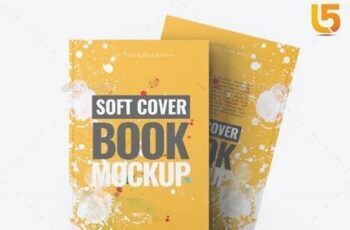 Soft Cover Book Mock-Up 24858039 12