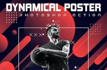 Dynamical Poster Photoshop Action 26048077