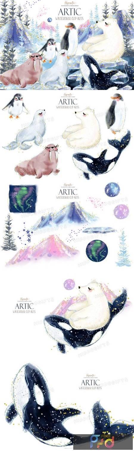 Artic Animals Clip Arts 4195955 1
