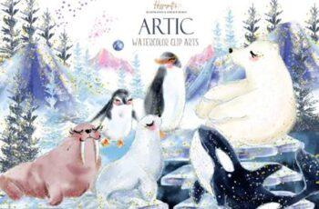 Artic Animals Clip Arts 4195955 14