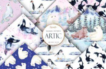 Artic Animals Patterns 4195977 13