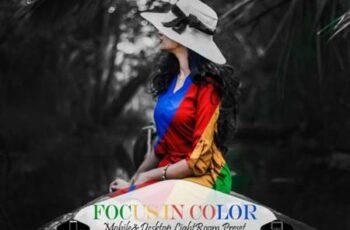 8 Focus in Color Mobile Lightroom Preset 4220889 3