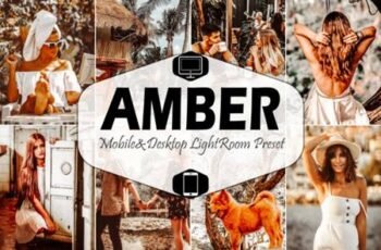 10 Amber Mobile Lightroom Presets 4221114 7
