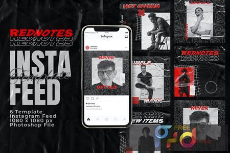 Rednotes Instagram Feed Post Template N4MLXEA 1