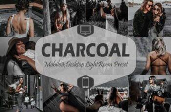 10 Charcoal Mobile Lightroom Presets 4221203 15