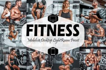 10 Fitness Mobile Lightroom Presets 4221302 6