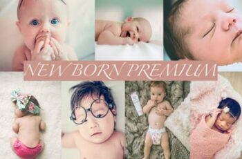Cinematic NewBorn Lightroom Presets 4220661 2