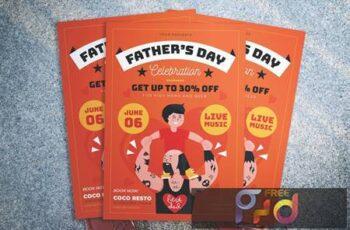 Fathers Day Promotion Flyer VD28PJ8