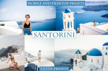 Cinematic Santorini Lightroom Presets 4220941 6