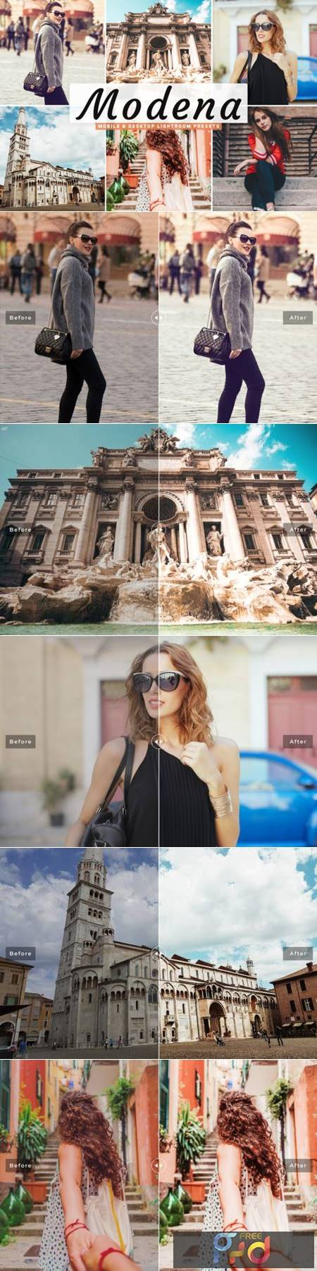 Modena Lightroom Presets Pack 4222589 1