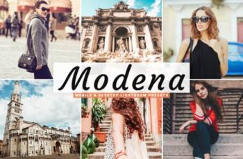 Modena Lightroom Presets Pack 4222589 4