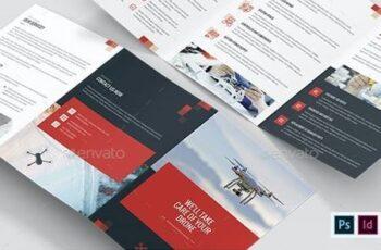 Brochure – Drone Service Tri-Fold A5 26501074 10