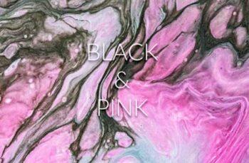 Handmade Liquid Paint - Black&Pink Vol.1 4063660 9