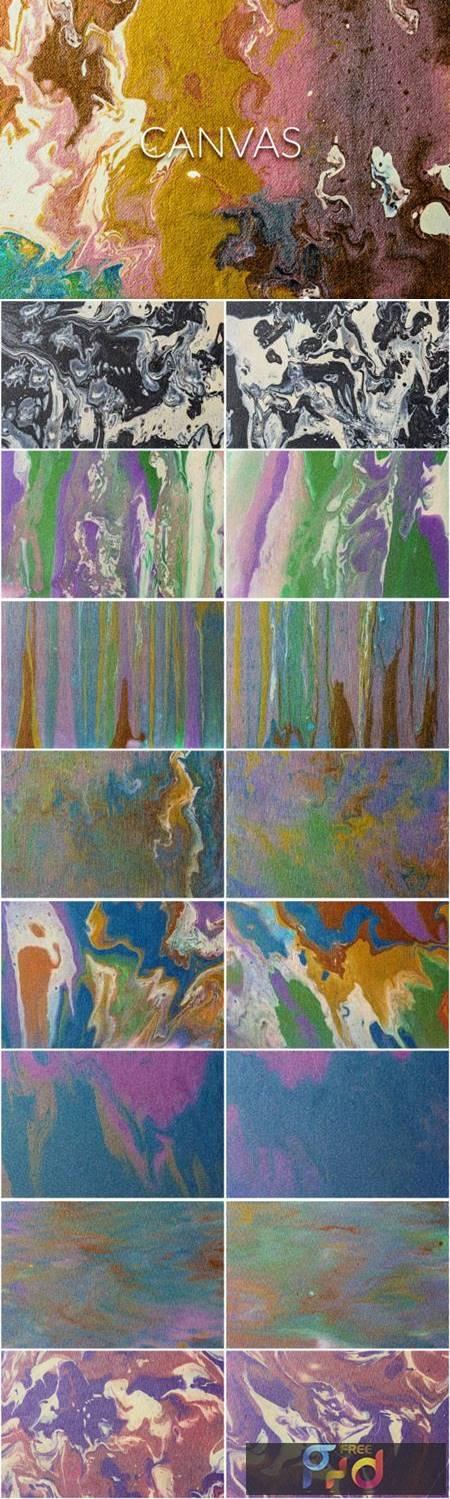 Handmade Liquid Paint - Canvas Vol.1 4063874 1