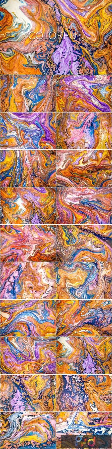 Handmade Liquid Paint - Colorful 4063495 1
