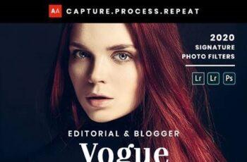 Vogue Fashion - Desktop & Mobile Lightroom Presets 26582265