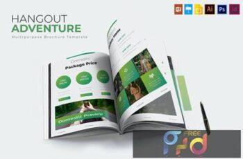 Hangout Adventure - Brochure Template XZFJUN8 2