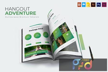 Hangout Adventure - Brochure Template XZFJUN8 1