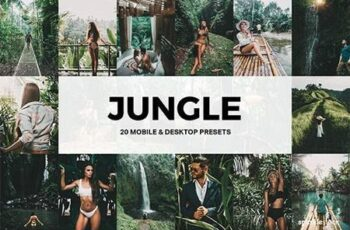 20 Jungle Lightroom Presets and LUTs 26674189 5