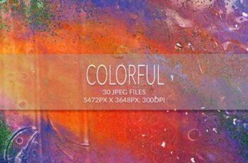 Liquid Paint - Colorful Textures 3656133 4