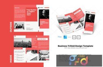 Maroon Trifold Brochure Design Template 4063961 2