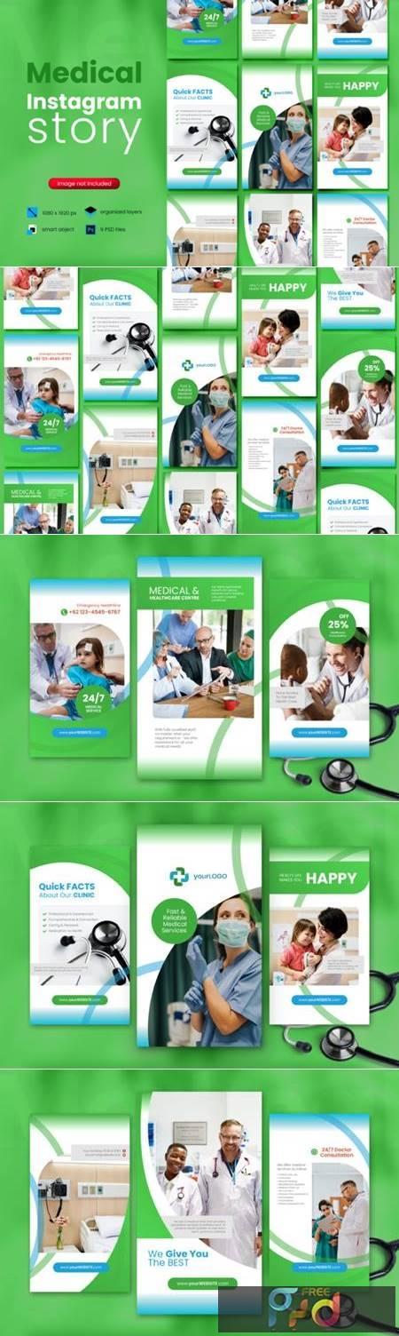 Medical Social Media Story Template 4066142 1