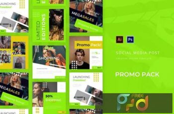 Promo Pack Social Media Post XUNY77Q 4