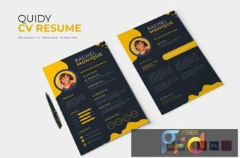 Quidy - CV & Resume L77VD3Z 3