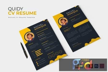 Quidy - CV & Resume L77VD3Z 1
