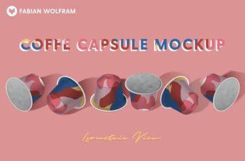 Coffee Capsule Mockup (Isometric) 4848223 7