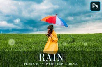 Rain Overlays Photoshop 4940346 4
