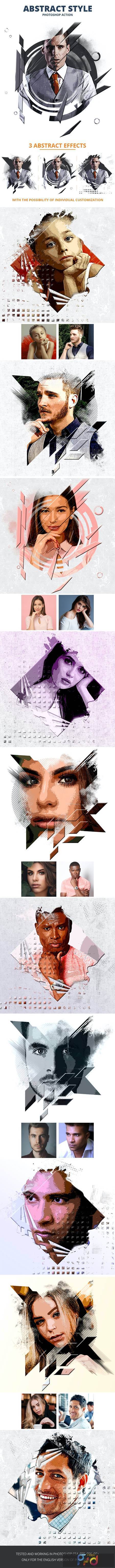 Abstract Style Photoshop Action 26541808 1