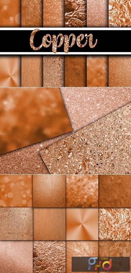 Copper Digital Paper Textures 4208823 1