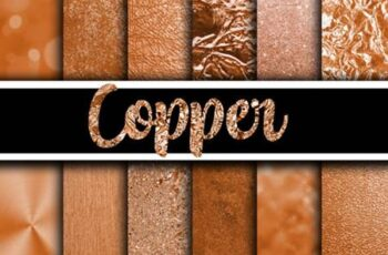 Copper Digital Paper Textures 4208823 4