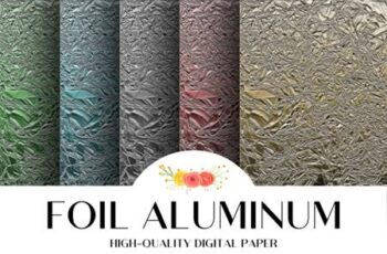 Foil Aluminum Texture Background 4209777 7