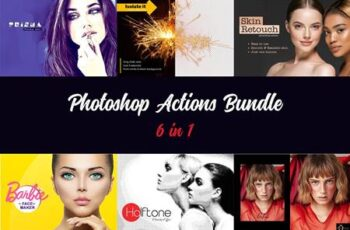 Photoshop Actions Bundle V3 4890734 4