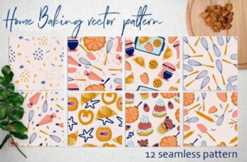 Home Baking Vector Pattern 4213119 10