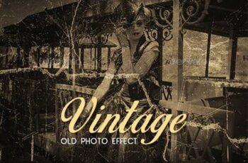 Vintage Old Photo Effect 26613892 15