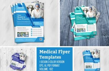 Creative Health Care Flyer Template 4955962 6