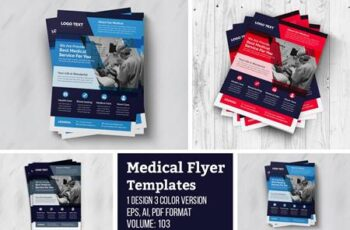Creative Medical Flyer Template 4956033 2