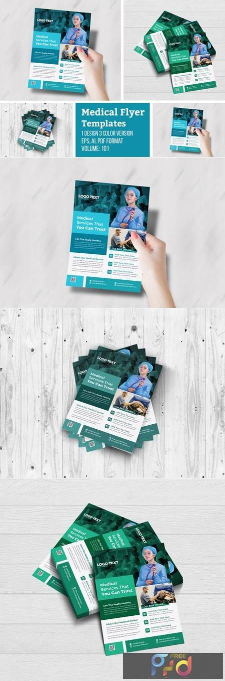 Creative Medical Health Care Flyer 4955935 1