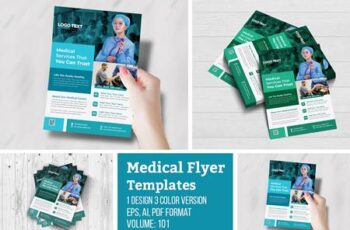 Creative Medical Health Care Flyer 4955935 7