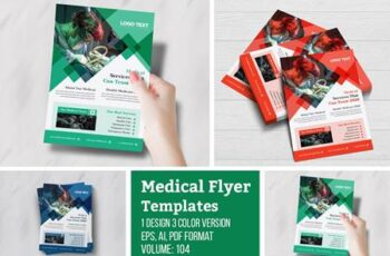Professional, Medical Flyer Design 4956109