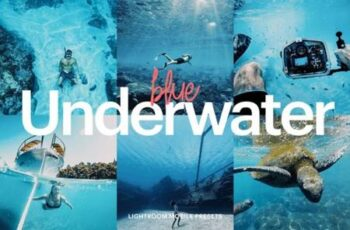 Lightroom Preset - Underwater Blue 4976194 7