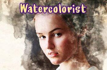 Watercolorist Photoshop Action 26646939 6